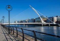 Samuel Beckett Bridge, Dublin Royalty Free Stock Photos