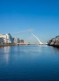Samuel Beckett Bridge, Dublin Royalty Free Stock Images