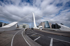 Samuel Beckett Bridge Dublin Ireland Royalty Free Stock Images