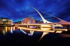 Samuel Beckett Bridge Dublin, Ireland Stock Photos