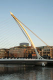 Samuel Beckett Bridge Dublin - Irland Royaltyfri Foto