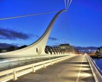 Samuel Beckett Bridge Stock Photos