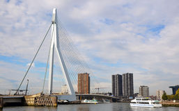 Samuel Beckett bridge in Rotterdam, Holland Stock Image