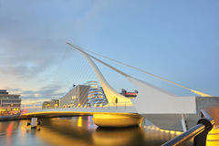 The Samuel Beckett Bridge Stock Photo