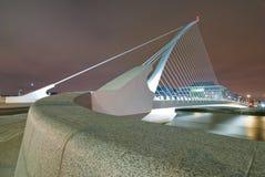 Samuel- Beckettbrücke Lizenzfreies Stockfoto