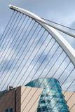 Samuel- Beckettbrücke Stockfoto