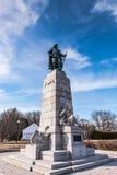 Samuel Champlain Monument Stock Photos