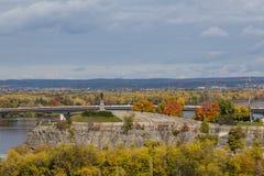 Samuel de Champlain Monument Stock Image