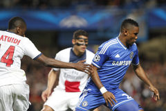 SAMUEL ETO'O Joueur FC CHELSEA Stockfoto