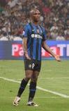 Samuel Eto'o, voetballer royalty-vrije stock afbeelding