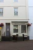 Samuel Johnson-geboorteplaatsboekhandel Lichfield Stock Fotografie