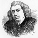 Samuel Johnson. (1709 - 1784), often referred to as Dr Johnson, made lasting contributions to English literature as a poet, essayist, moralist, literary critic Royalty Free Stock Photography