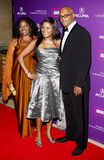 Samuel L. Jackson and LaTanya Richardson. At the 23rd Annual American Cinematheque Award Ceremony Honoring Samuel L. Jackson held at the Beverly Hilton Hotel in Stock Images