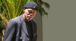 Samuel L Jackson Waxwork Stock Photos
