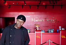 Samuel L Jackson Waxwork Royalty Free Stock Photo