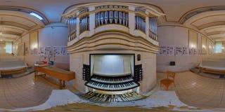 Samuel Maetz Pipe Organ i Cluj-Napoca, Rumänien Royaltyfri Fotografi