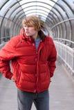 Samuel nel colore rosso Immagini Stock