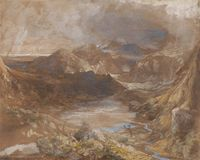 Samuel Palmer - North Wales Royalty Free Stock Photos