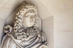 Samuel Pepys rzeźba w Londyn obraz royalty free