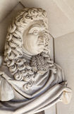 Samuel Pepys Sculpture in London Royalty Free Stock Photos