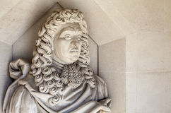 Samuel Pepys Sculpture in London Royalty Free Stock Image