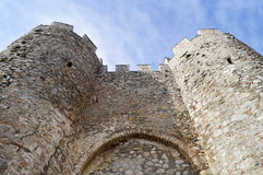 Samuel's fortress in Ohrid Royalty Free Stock Photography