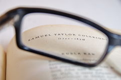 Samuel Taylor-Beschaffenheit Stockbilder