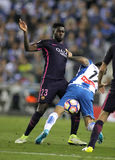 Samuel Umtiti van FC Barcelona Stock Foto