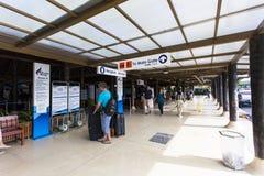 Samui机场,泰国 图库摄影