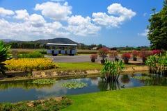 Samui airport runaway Royalty Free Stock Images