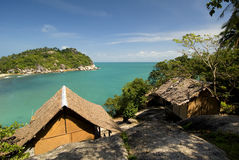 Samui Bay. This image shows an beautiful bay on the island of Koh Samui, Thailand stock photos