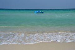 Samui beach banana boat Royalty Free Stock Image