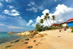 Samui beach thailand Royalty Free Stock Photo