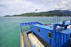 Samui boat port Royalty Free Stock Image