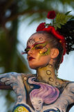 Samui body painting Stock Photography