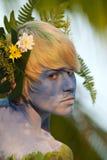 Samui body painting Stock Image