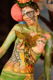 Samui body painting Stock Image