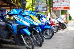 Samui Chaweng street Royalty Free Stock Image