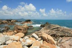 Samui coastline Royalty Free Stock Photography