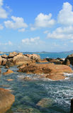Samui coastline Stock Photography