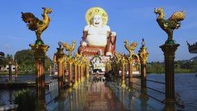 Samui de KOH de temple de Wat Plai Laem, Tha?lande clips vidéos
