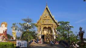 Samui de KOH de temple de Wat Plai Laem, Tha?lande banque de vidéos