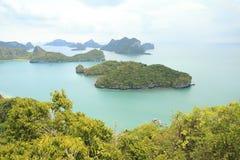 Samui dell'isola della cinghia del ANG in Tailandia Fotografia Stock Libera da Diritti