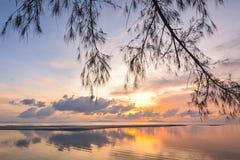 Samui di tramonto Fotografia Stock