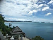 Samui do ponto de vista na ilha foto de stock