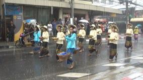 Samui Festival Parade, Thailand - 7 September 2017 stock video