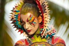 Samui huvuddelmålning Fotografering för Bildbyråer