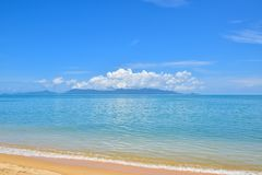 Beautiful Thailand beach of Samui island, one of the most famous tourist vacation destination Royalty Free Stock Photo
