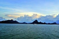 Samui island port. Samui island in Thailand Stock Photo