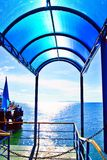 Samui island port. Samui island in Thailand Stock Photography